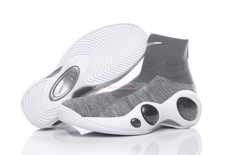 Nike Zoom Flight Bonafide Gris Chaussure de Basket