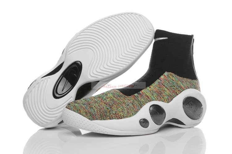 Nike Zoom Flight Bonafide Multicolore Chaussure de Basket