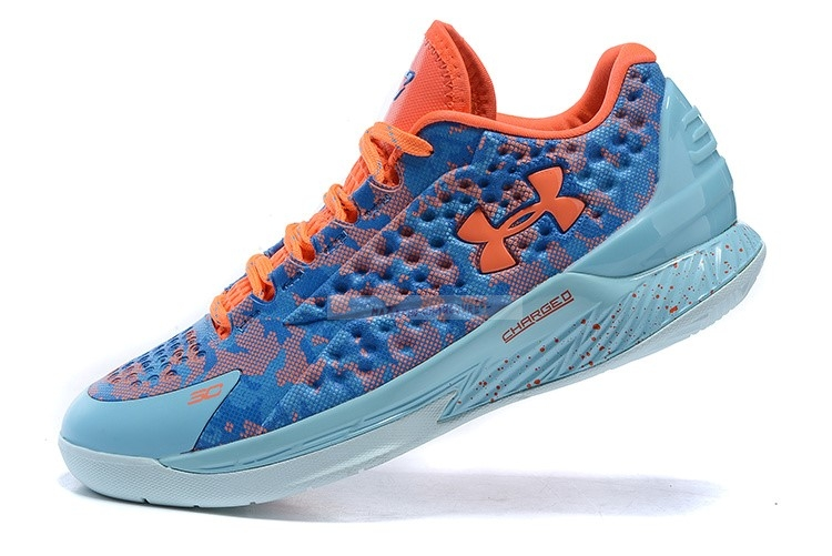 "Under Armour Curry 1 Low ""Elite 24"" Bleu Chaussure de Basket"