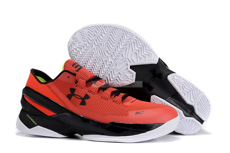 "Under Armour Curry 2 Low ""All Star"" Rouge Bleu Chaussure de Basket"