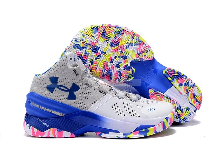 "Under Armour Curry 2 ""Surprise Party"" Chaussure de Basket"