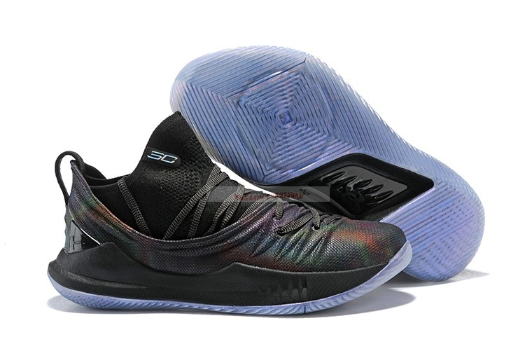 Under Armour Curry 5 Low Noir Chaussure de Basket