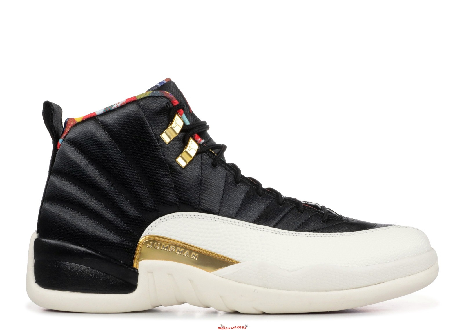 Air Jordan 12 - Homme Retro Cny Chinese New Year Noir (CI2977-006) Chaussure de Basket