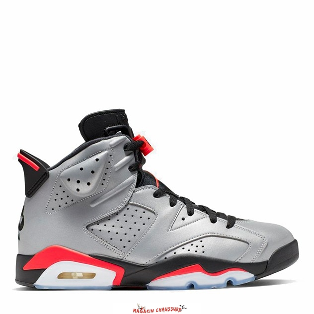 "Air Jordan 6 - Homme ""Reflections Of A Champion"" Argent (CI4072-001) Chaussure de Basket"