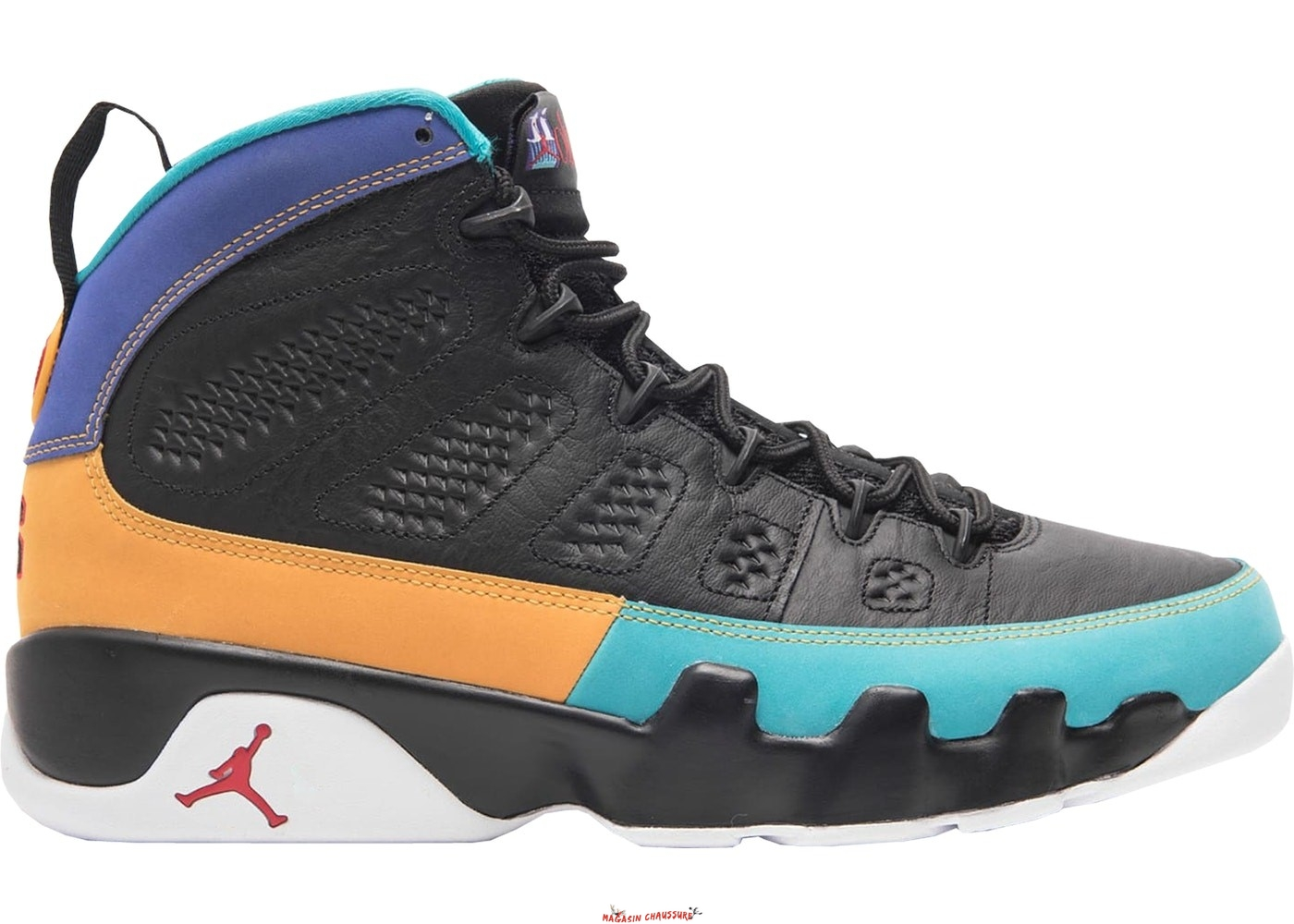 Air Jordan 9 - Homme Retro Dream It Do It Noir (302370-065) Chaussure de Basket