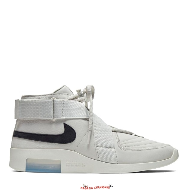 "Nike Air Fear Of God - Homme Raid ""Light Bone"" Blanc (AT8087-001) Chaussure de Basket"