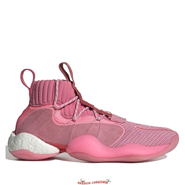 "Adidas Crazy Byw Prd Pharrell - Homme ""Now Is Her Time"" Rose (EG7723) Chaussure de Basket"