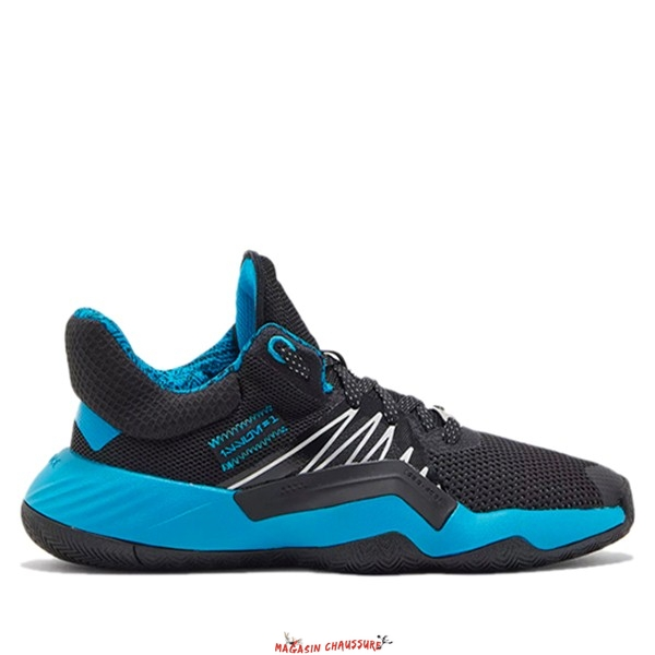 "Adidas D.O.N. Issue 1 (GS) ""Star Wars"" Noir Bleu (FU7156) Chaussure de Basket"