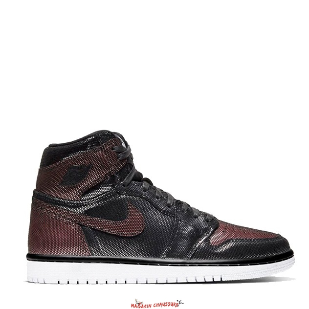 "Air Jordan 1 - Femme High Og ""Fearless"" Marron (CU6690-006) Chaussure de Basket"