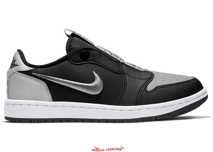 "Air Jordan 1 - Femme Low Slip ""Shadow"" Noir Gris (CQ0279-001) Chaussure de Basket"