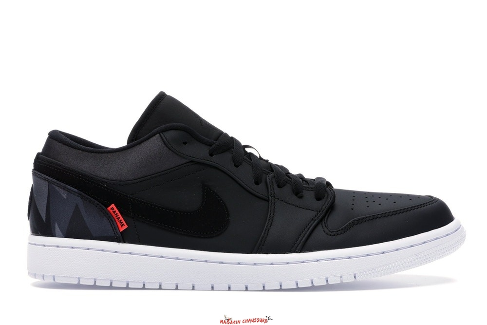 "Air Jordan 1 - Homme Low Psg ""Paris Saint Germain"" Noir (CK0687-001) Chaussure de Basket"