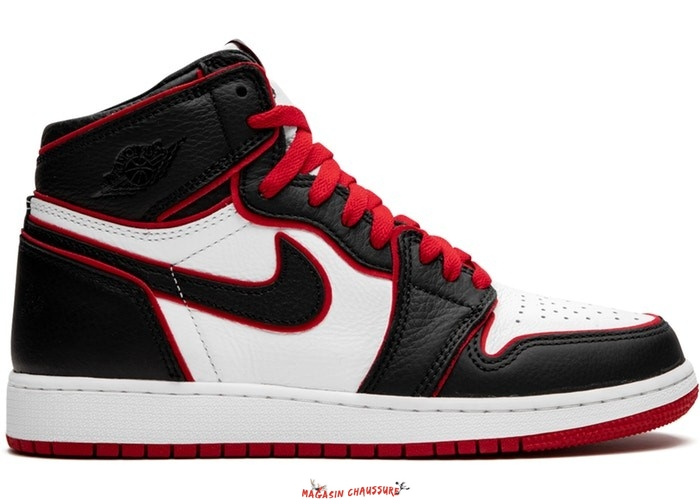 "Air Jordan 1 High Retro (GS) ""Bloodline"" Noir (575441-062) Chaussure de Basket"