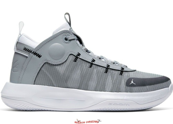 "Air Jordan Jumpman 2020 - Homme ""Particle"" Gris (BQ3449-002) Chaussure de Basket"