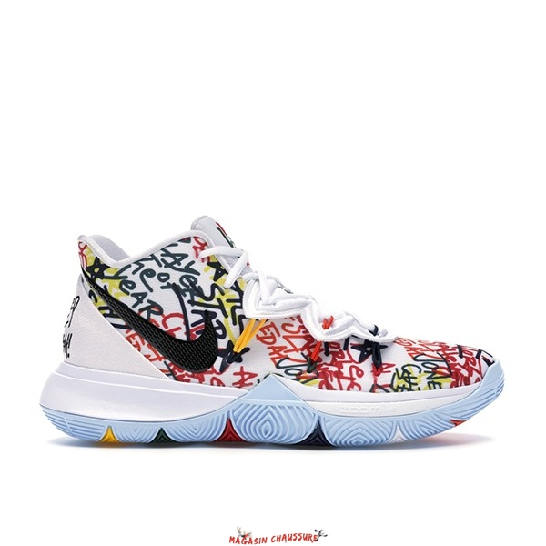 "Nike Kyrie Irving V 5 - Homme ""Keep Sue Fresh"" Multicolore (CW2771-100) Chaussure de Basket"