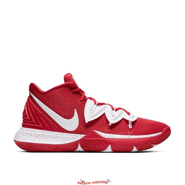 Nike Kyrie Irving V 5 - Homme Team Rouge Blanc (CN9519-600) Chaussure de Basket