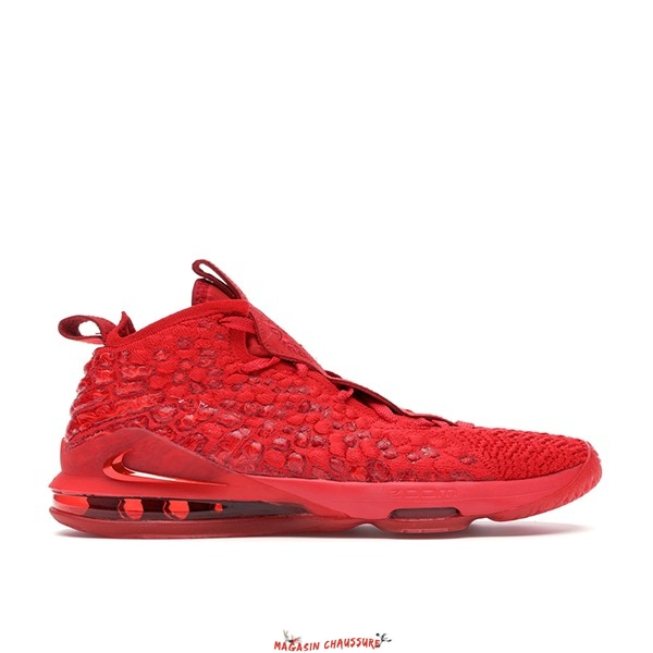 "Nike Lebron XVII 17 (GS) ""Rouge Carpet"" Rouge (BQ5594-600) Chaussure de Basket"