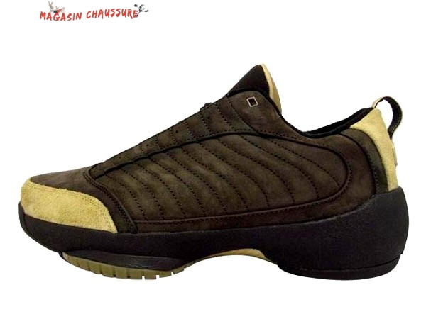 Air Jordan 19 - Homme Marron Chaussure de Basket