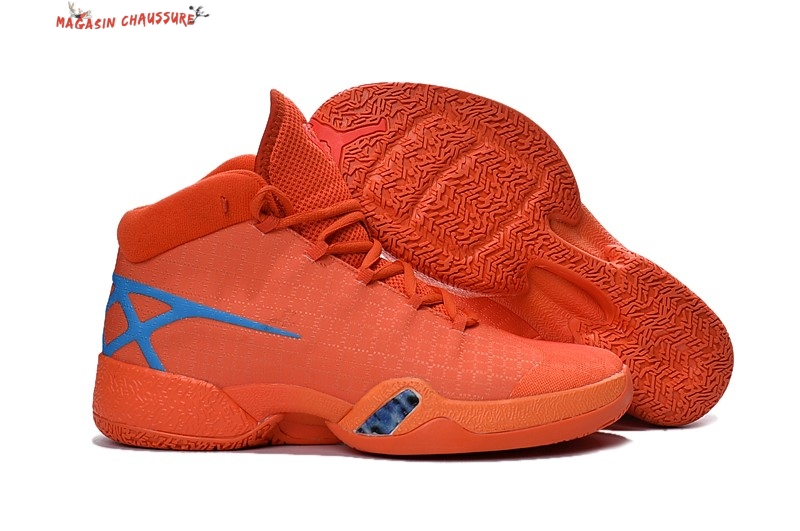 Air Jordan 30 - Homme Orange Chaussure de Basket