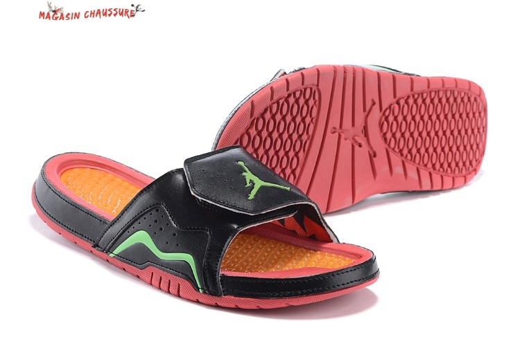 Air Jordan 7 Chaussons - Homme Orange