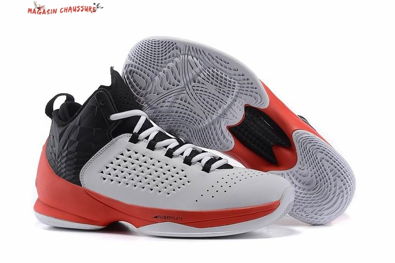 Air Jordan Carmelo Anthony 11 - Homme Blanc Rouge Chaussure de Basket