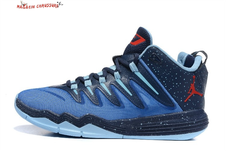 premium selection 702e2 bbc41 ... low price air jordan chris paul 9 homme bleu chaussure de basket 75da1  169fb