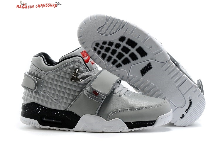 Air Trainer Cruz - Homme Gris Chaussure de Basket