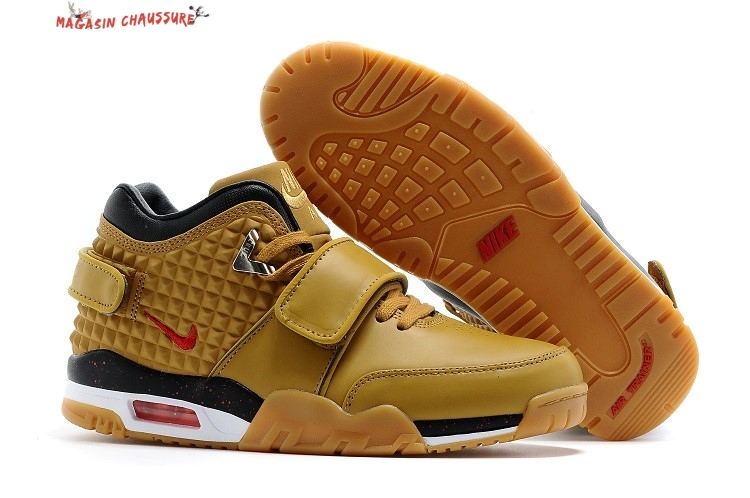 Air Trainer Cruz - Homme Jaune Chaussure de Basket