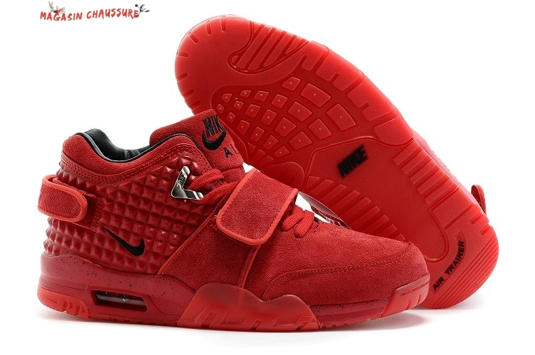 Air Trainer Cruz - Homme Rouge Chaussure de Basket