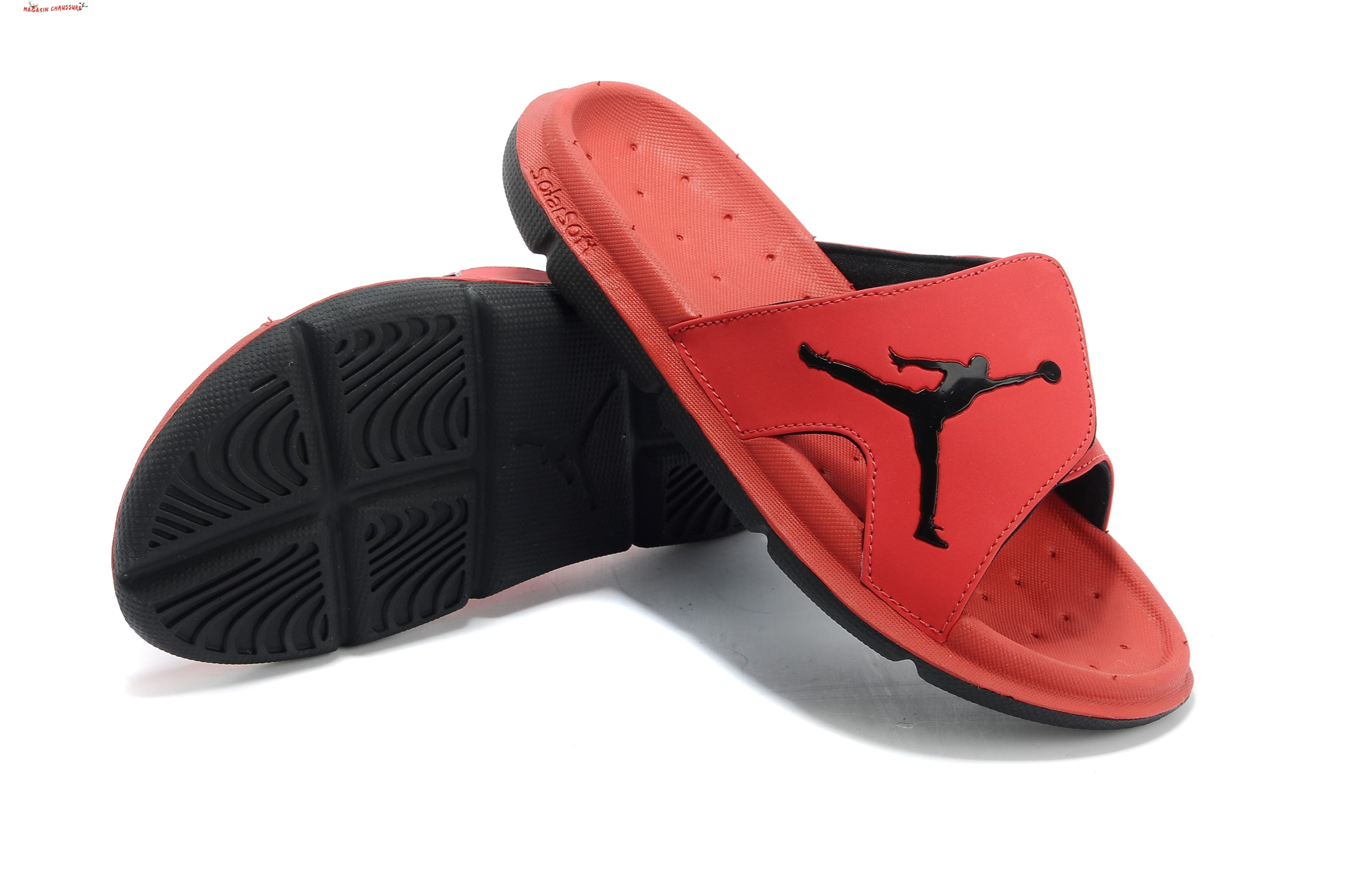 Jordan Hydro Chaussons - Homme Red