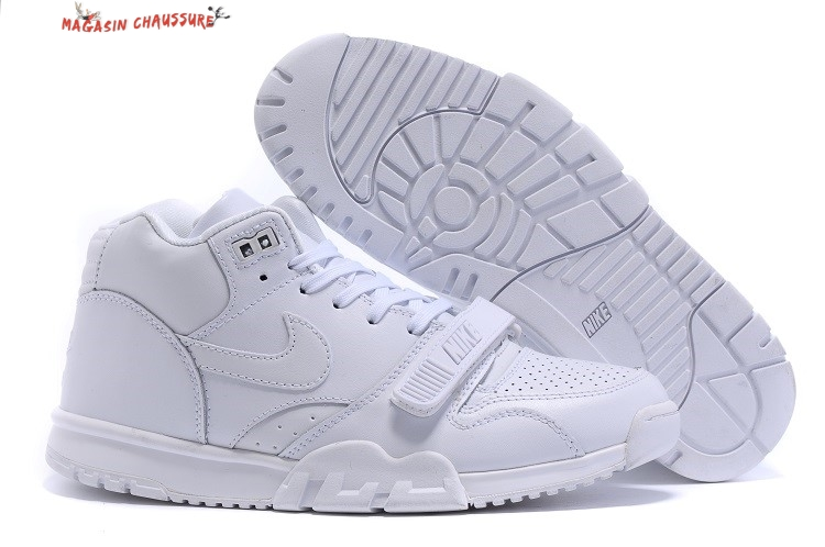 Nike Air Trainer 1 Mid - Homme Blanc Chaussure de Basket