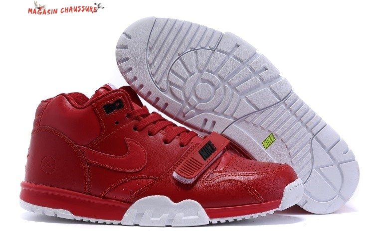 Nike Air Trainer 1 Mid - Homme Rouge Chaussure de Basket