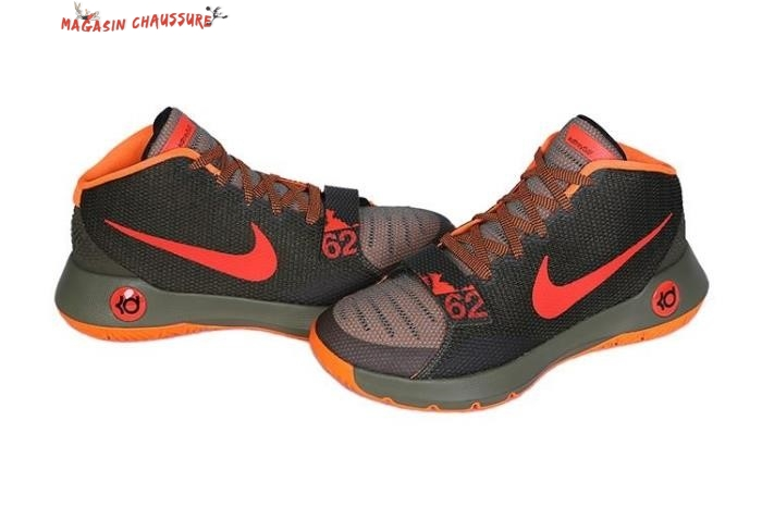 Nike KD Trey 5 - Homme Marron Orange Chaussure de Basket