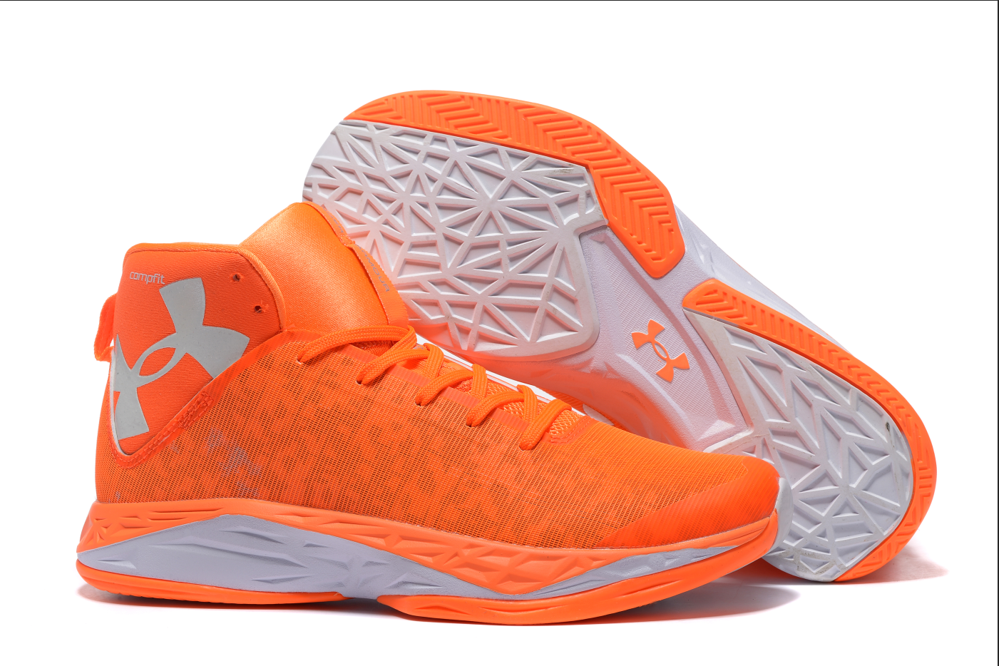 Stephen Curry 6 - Homme Orange Chaussure de Basket